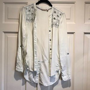 ANTHROPOLOGIE HOLDING HORSES TOP SIZE XS